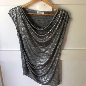 Calvin Klein Silver Tunic